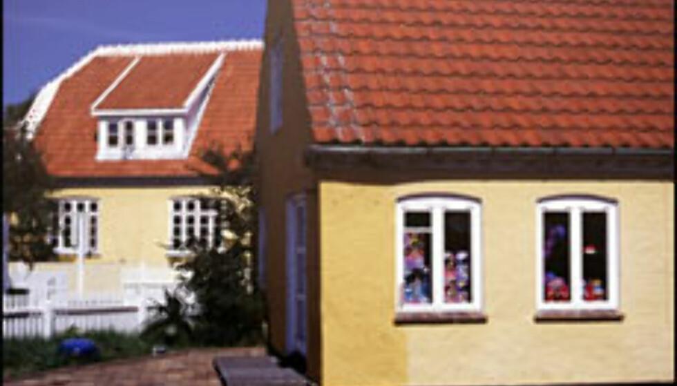 Typiske skagenhus. Alle foto: Kristin Sørdal Foto: Kristin Sørdal