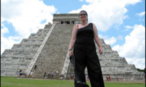 Lene Heiberg i Mexico. Foto: Lene Heiberg