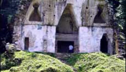 Ruiner i Palenque. Foto: Lene Heiberg