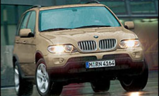 Oppgradert BMW X5 4.4.