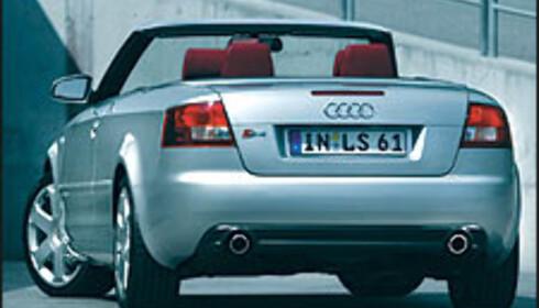 Audi S4 kabriolet