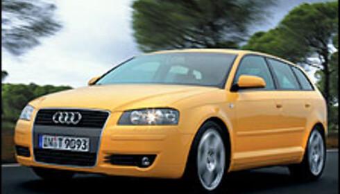 Audi A3 Sportsback (bildet er manipulert).