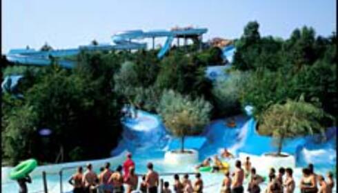Også i Fårup Sommerland: Nordens største utendørs vannpark. Bilde: Fårup Sommerland Foto: Fårup Sommerland