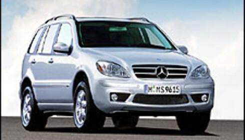 Ny Mercedes M-klasse?