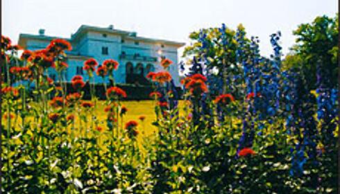 Kong Carl Gustav XVIs slott på Solliden i Öland i Sverige byr på servering.  Foto: www.sollidensslott.se  Foto: www.sollidensslott.se