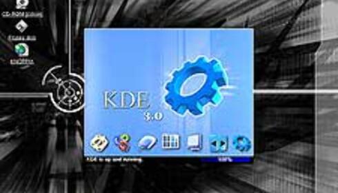 Knoppix Linux - fullt operativsystem og programmer fra CD