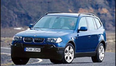 BMW X3: Sportslig for inn-  og utmark