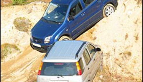 DUELL: Subaru Justy vs Suzuki Ignis