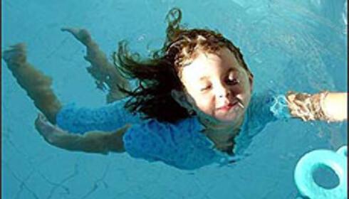 Bade midt på vinteren - i Syden.  Foto: Chris Holmes Foto: Chris Holmes