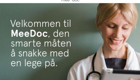 FLERE: Meedoc tilbød videokonsultasjon i Norge, men er nå nedlagt. (FOTO. MEEDOC)