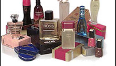 Kjøp kosmetikken utenlands.