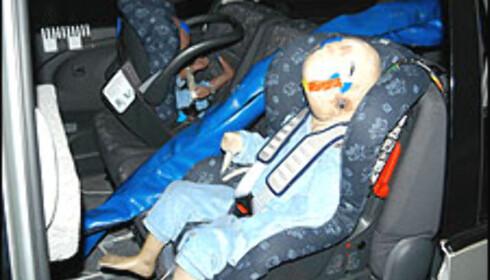 Nå testes også barnas sikkerhet