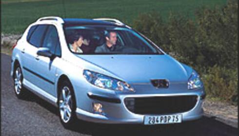 Her er nye Peugeot 407