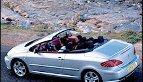 307 CC blir blant Norges billigste kabrioleter