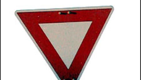 Overtredelse av dette skiltet vil koste deg 4.000 kroner samt to prikker på førerkortet.