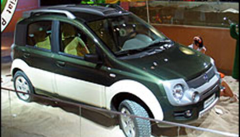 Fiat Panda 4x4 og SUV