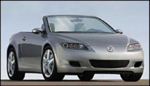 Mulig etterfølger til Mazda MX5 (manipulert bilde)