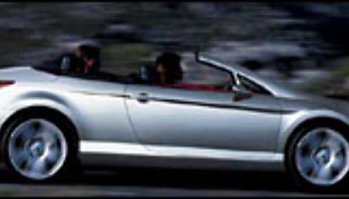 Kabrioletversjonen av nye Peugeot 407 (manipulert bilde)