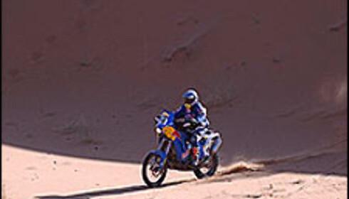 Ullevålseter imponerer i ørkenen