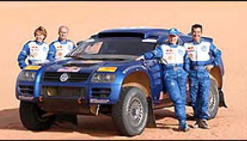 Mitsubishi herjer i Mauritania