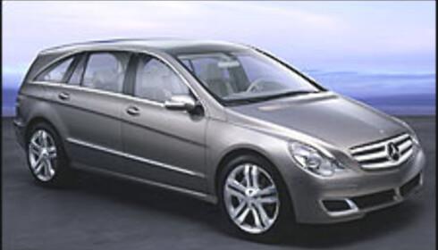 Mercedes med fet flerbruksbil