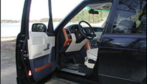 TEST: Range Rover TD6 Vogue