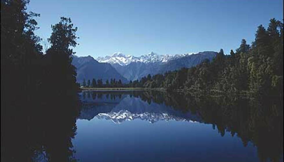 New Zealands spektakulære landskap kan ta pusten fra noen og enhver. Foto: Stein-Roar Jacobsen Foto: Stein-Roar Jacobsen