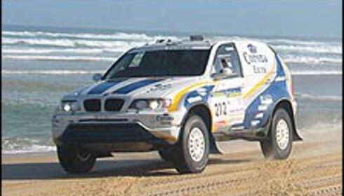 DIESEL: BMW-gutta Alphand og De Mevius brukte diesel-motorer, i likhet med Volkswagen.