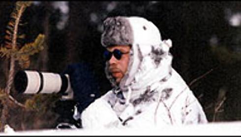 Spionfotografer i 41 kuldegrader