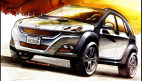 Mikro-SUV fra Smart