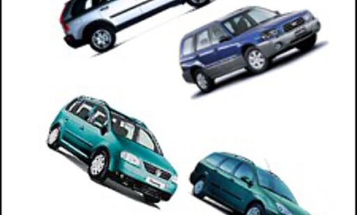 image: Volvo og Subaru frem, VW og Ford tilbake