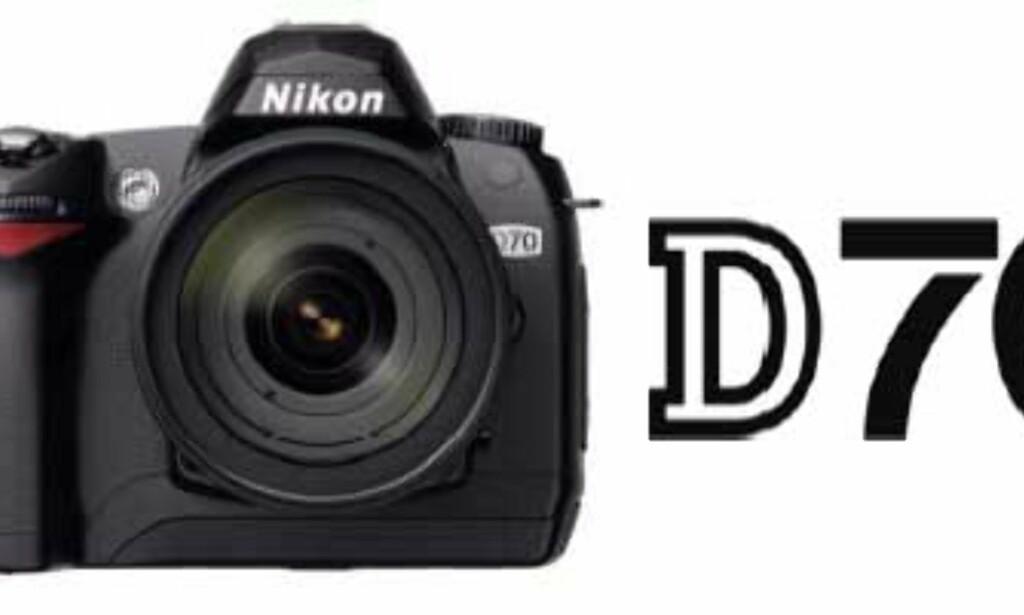 image: Nikon klar med D70