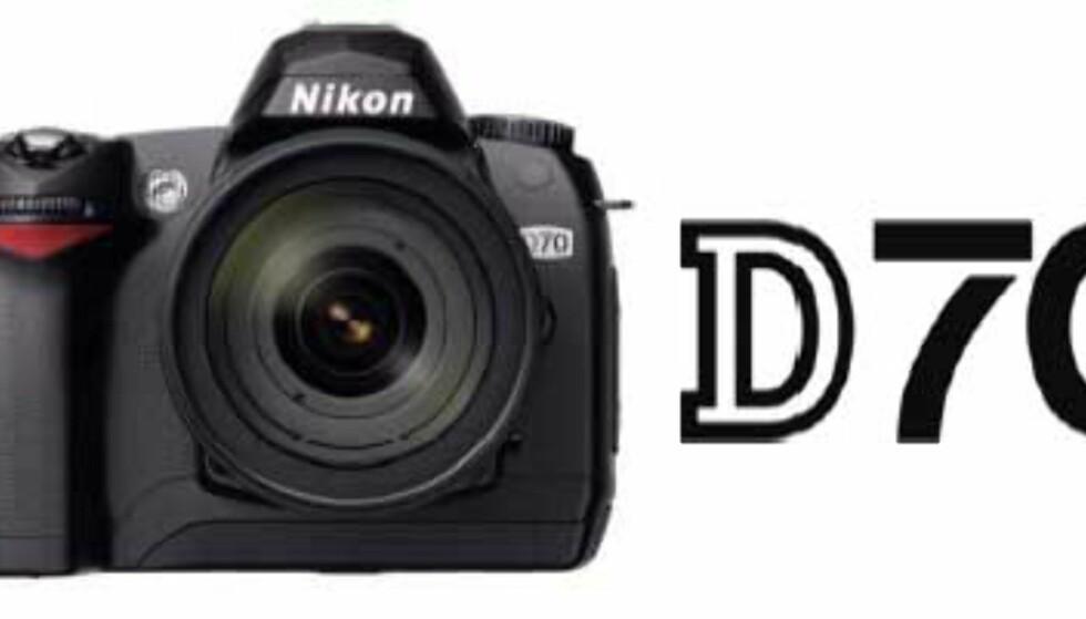Nikon klar med D70