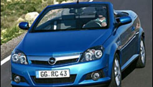 Kupe-kabriolet fra Opel