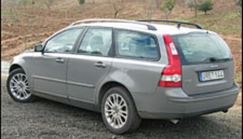 Volvo V50 - nær storebror
