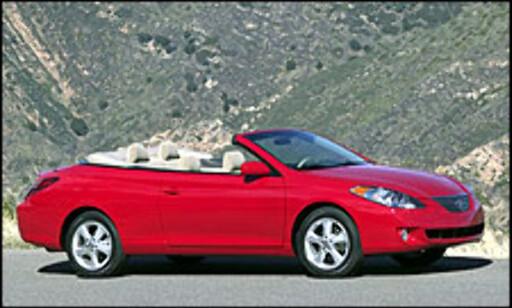 image: USA får Camry-cabriolet