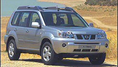 HAR ALT: Nissan X-Trail er blant bilene som treffer biltrendene i det norske bilmarkedet aller best - den er en SUV, firehjulsdrevet og tilgjengelig med dieselmotor.