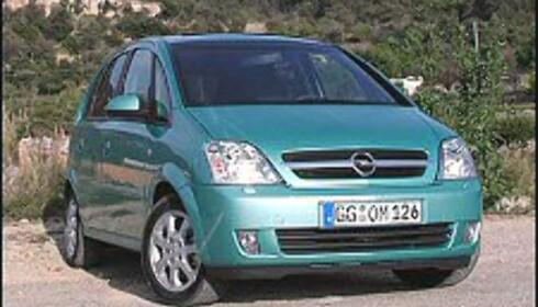 INTERESSANT NYKOMMER: Opel Meriva er en av de mange spennende flerbruks- og fleksibilene som har dukket opp de siste to årene.