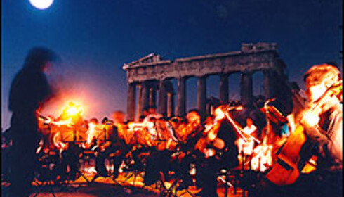 Midnattskonsert  Foto: Athen2004.com Foto: athens2004.gr