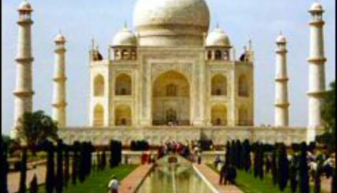 En tur til Taj Mahal avslutter ebookers 8-dagers rundreise i India. Til kun 3500 kroner er dette ukens desidert beste reisekupp! Foto: www.aviewoncities.com  Foto: www.aviewoncities.com