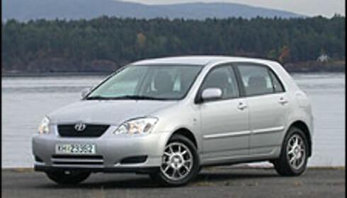 Toyota Corolla: 8 seire