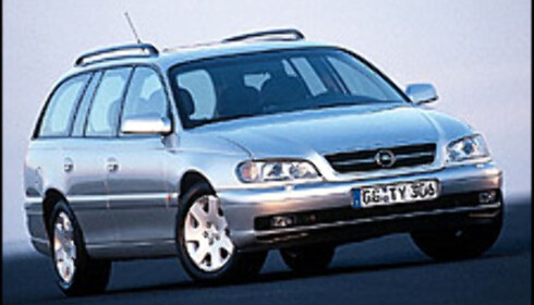 Opel Omega: 8 tap