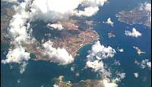 Greske øyer sett fra luften. Foto: Camilla Smistad Tofterå Foto: Camilla Smistad Tofterå