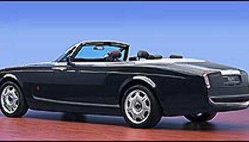 Eksperimentell Rolls kabriolet