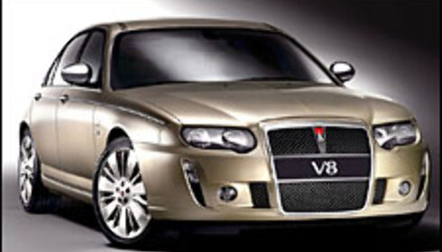 Voldsom V8-Rover