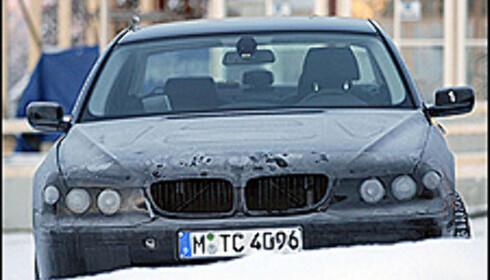 Ny front på BMW 7-serie