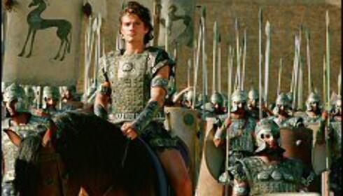 Orlando Bloom er Paris, prinsen av Troja. Staut og klart til kamp, som vi er vant til å se ham. Bildet er gjengitt med tillatelse fra Warner Bros og Sandrew Metronome