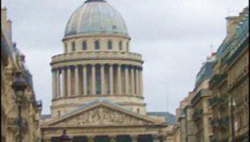 Le Panthéon, sett fra Luxembourg. Foto: Elisabeth Dalseg Foto: Elisabeth Dalseg