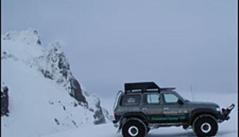 Brekjøring på Island