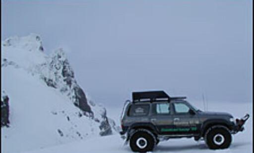 image: Brekjøring på Island